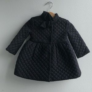 Janie&Jack baby quilted coat 6-12m